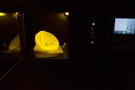 SLA快速成型3D打印过程一