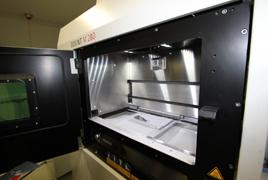 Eos金属3D打印机打印过程一