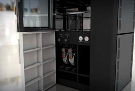 工业级FDM熔融沉积3D打印机打印过程一