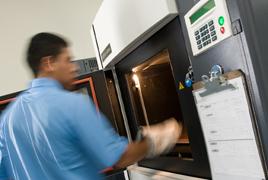 工业级FDM熔融沉积3D打印机打印过程三
