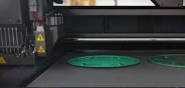 OBJET 3D打印机打印过程